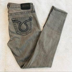 Big Star Alex Skinny Gray Jeans Super Soft